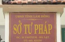 Điều động nguyên Giám đốc Sở Tư pháp Lâm Đồng đến một đơn vị khác