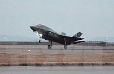 Máy bay chiến đấu Mỹ rơi sau khi va chạm với máy bay tiếp liệu