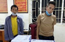 Hà Nội: Khởi tố 2 bị can vận chuyển trái phép 15 bánh heroin