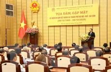 Tọa đàm và gặp mặt nhân 60 năm kết nghĩa Hà Nội-Huế-Sài Gòn