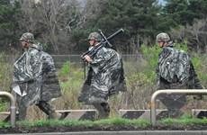 Dịch COVID-19: Đơn vị Lục quân Hàn Quốc phát sinh lây nhiễm tập thể