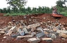 Đắk Nông: Dân bức xúc trước tình trạng khai thác đá bazan trái phép