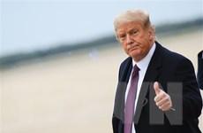 Tổng thống Mỹ Donald Trump thông báo kế hoạch xuất viện