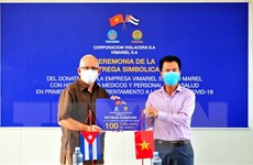 Doanh nghiệp Việt Nam đồng hành cùng Cuba chống dịch bệnh COVID-19