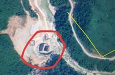Huy động tổng lực mở đường tiếp cận vào Thủy điện Rào Trăng 3