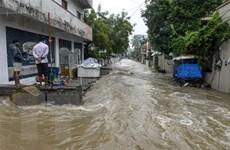 Mưa lớn tại miền Nam Ấn Độ khiến hàng chục người thiệt mạng
