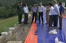 Xử lý khẩn cấp sự cố nứt đỉnh đập ở hồ lớn thứ 2 của Thanh Hóa