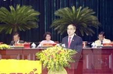 Ông Nguyễn Thiện Nhân tiếp tục chỉ đạo Đảng bộ Thành phố Hồ Chí Minh