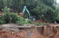 Sạt lở đất ở Hướng Hóa: Tìm được thêm 2 thi thể cán bộ, chiến sỹ