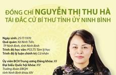 [Infographics] Bí thư Tỉnh ủy Ninh Bình Nguyễn Thị Thu Hà