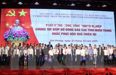 Doanh nghiệp Hải Phòng đóng góp 90 tỷ đồng ủng hộ đồng bào miền Trung