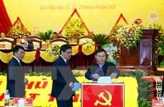 [Photo] Bà Giàng Páo Mỷ tái đắc cử Bí thư Tỉnh ủy Lai Châu