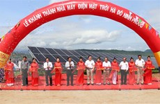Khánh thành nhà máy điện Mặt Trời có vốn đầu tư hơn 1.000 tỷ đồng