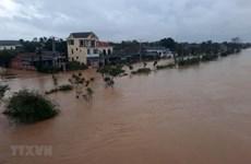 Điện thăm hỏi của Quốc vương Thái Lan về tình hình lũ lụt ở miền Trung