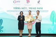 Clip bằng tiếng Anh đoạt giải Nhất cuộc thi 'Vì một Việt Nam xanh'