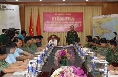 Kiểm tra, chỉ đạo công tác phòng chống bão số 9 tại tỉnh Phú Yên