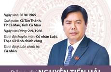 [Infographics] Ông Nguyễn Tiến Hải tái đắc cử Bí thư Tỉnh ủy Cà Mau