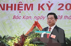 Ông Hoàng Duy Chinh được bầu giữ chức Bí thư Tỉnh ủy Bắc Kạn khóa XII