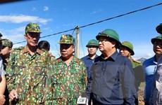 Lở đất ở Quảng Nam: Phó Thủ tướng đến hiện trường chỉ đạo cứu nạn