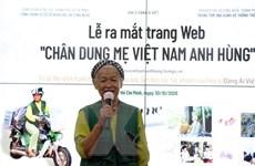 Trang web lưu giữ hơn 2.000 chân dung Mẹ Việt Nam Anh hùng