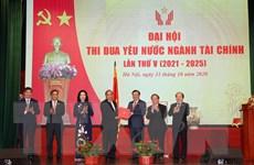 [Photo] Thủ tướng dự Đại hội Thi đua yêu nước ngành Tài chính