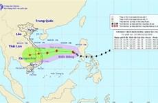 Bão số 10 giật cấp 10, gây mưa lớn ở miền Trung và Bắc Tây Nguyên