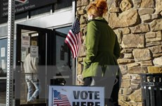 Tất cả các điểm bỏ phiếu trên toàn nước Mỹ đã chính thức đóng cửa