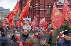 Những người Cộng sản Nga tôn vinh giá trị của Cách mạng tháng Mười
