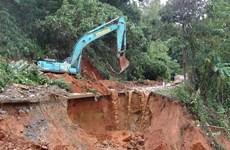 Tái thiết sau lũ lụt ở Quảng Trị: Ứng phó kịp thời với sạt lở đất