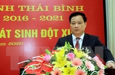 Ông Nguyễn Khắc Thận được bầu giữ chức vụ Chủ tịch UBND tỉnh Thái Bình