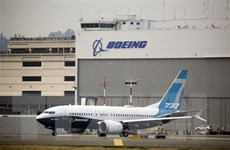 Boeing bị hủy thêm 12 đơn đặt mua máy bay 737 MAX trong tháng 10