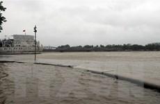 Thừa Thiên-Huế cho học sinh nghỉ học để ứng phó với mưa lũ
