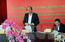 Tổ công tác của Thủ tướng Chính phủ làm việc với 5 tỉnh Tây Nguyên