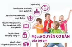 [Infographics] Tìm hiểu về một số quyền cơ bản của trẻ em