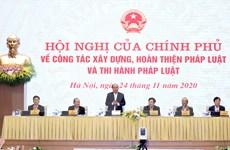 'Chính phủ phải nhận lỗi đầu tiên trong hệ thống xây dựng pháp luật'