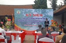 Kỷ niệm 15 năm Làng cổ Đường Lâm được công nhận là di tích quốc gia