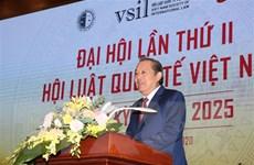 'Bảo đảm lợi ích quốc gia trên cơ sở tôn trọng luật pháp quốc tế'