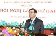 Hội nghị lần thứ 2 Ban Chấp hành Đảng bộ Thành phố Hà Nội