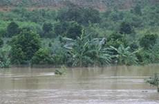 Đắk Lắk: Mưa lớn làm sạt trượt núi, nhiều nhà dân bị sập
