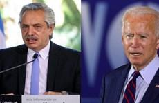 Tổng thống Argentina Alberto Fernandez điện đàm chúc mừng ông Biden
