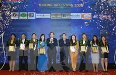 Công bố chương trình Giải thưởng 'Thương hiệu vàng TP Hồ Chí Minh'