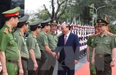 Hình ảnh Thủ tướng Nguyễn Xuân Phúc dự Hội nghị Công an toàn quốc
