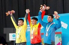 Ngô Sơn Đỉnh - vận động viên tài năng của cử tạ Việt Nam 