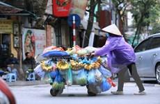 Hình ảnh Hà Nội chìm trong đợt rét đậm đầu tiên của năm
