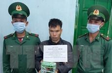 Kon Tum: Bắt quả tang vụ vận chuyển ma túy đá ở vùng biên
