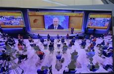Họp báo thường niên của Tổng thống Putin nhắm vào chống dịch COVID-19