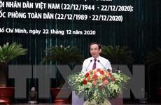 Thành phố Hồ Chí Minh gặp mặt cán bộ cao cấp Quân đội nghỉ hưu