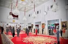 Sáu tân bộ trưởng nhậm chức, Tổng thống Indonesia kiện toàn nội các