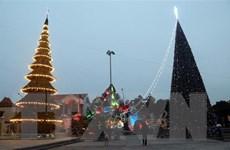 Rực rỡ sắc màu không khí Giáng sinh tại xứ đạo Nam Định