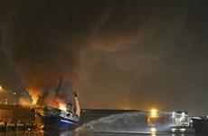 Cháy tàu cá của Nga tại Tây Ban Nha, 3 người thiệt mạng
